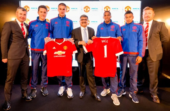 HCL deal with Manchester United