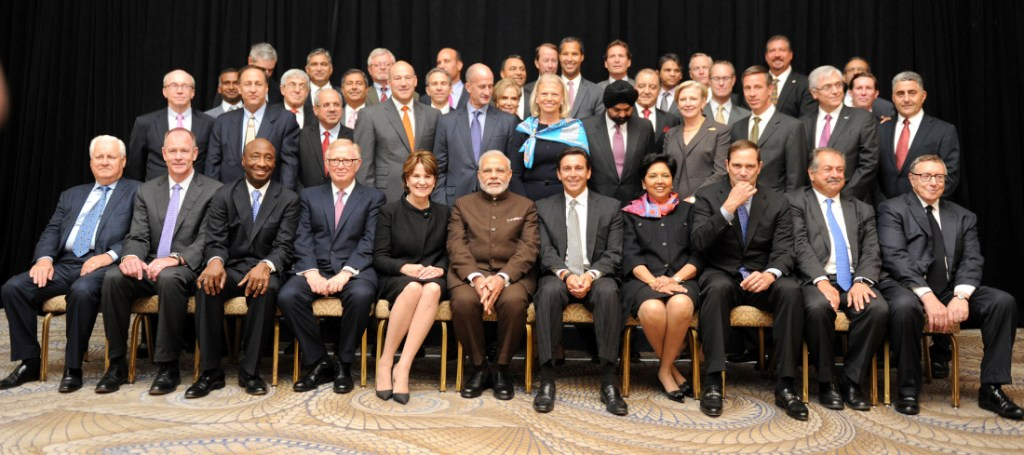 Modi in the US with tech CEOs