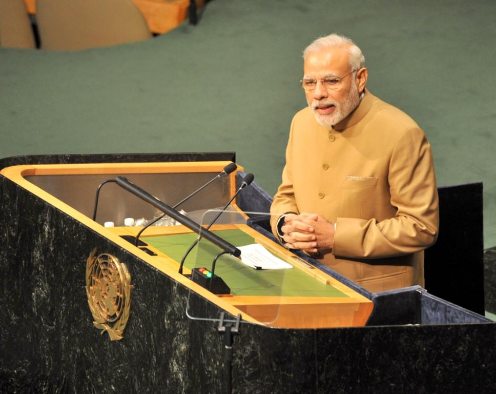 PM Narendra Modi at UN