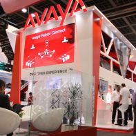 Avaya in a trade event