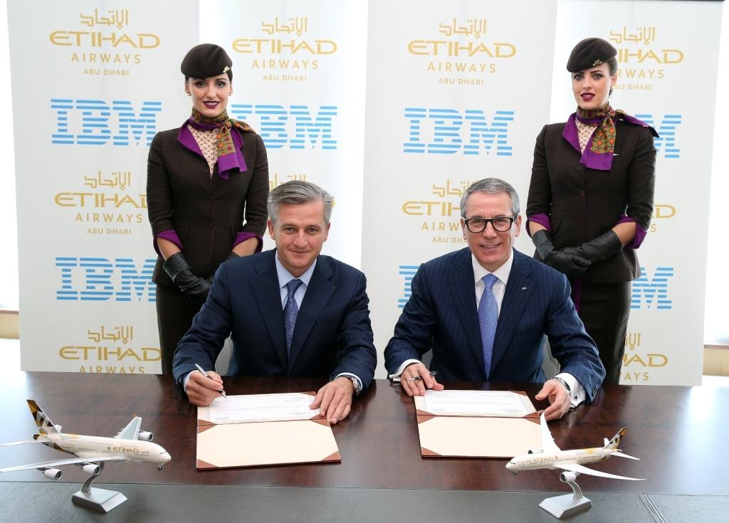 Etihad Airways in IT deal with IBM