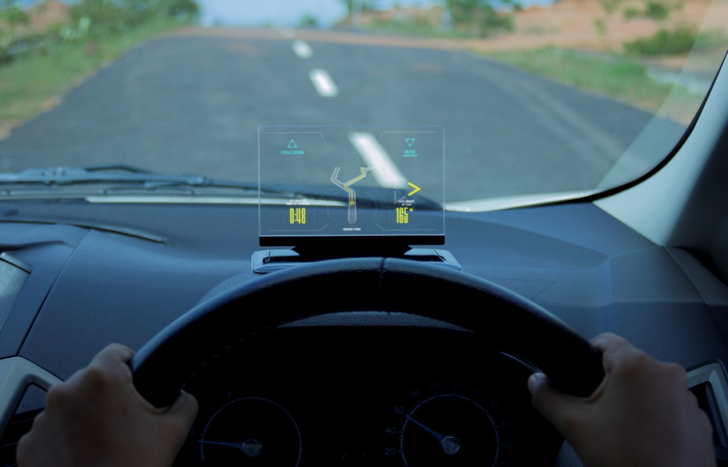 Exploride Heads-up Display