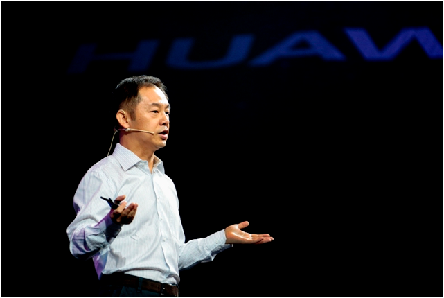 Ryan Ding, executive director and president of Products and Solutions at Huawei