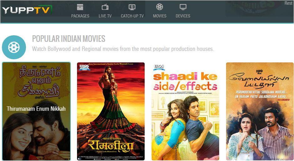 YuppTV in India