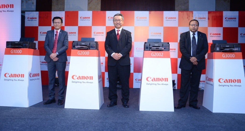 Canon India printer launch
