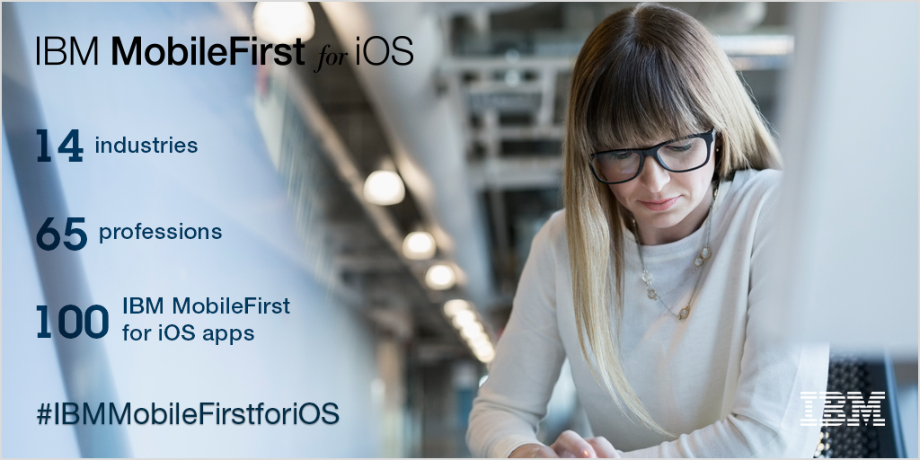 IBM delivers more than 100 IBM MobileFirst for iOS apps