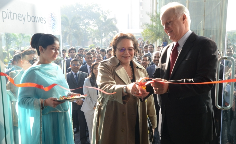 Pitney Bowes Expands in India