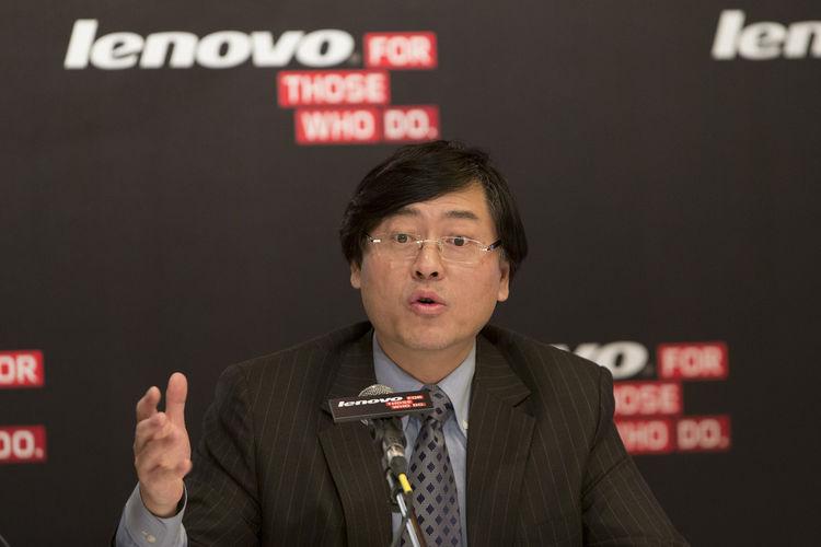 Yuanqing Yang of Lenovo