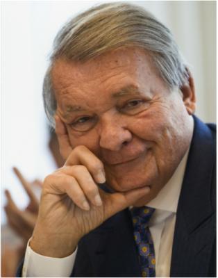 Capgemini founder Serge Kampf