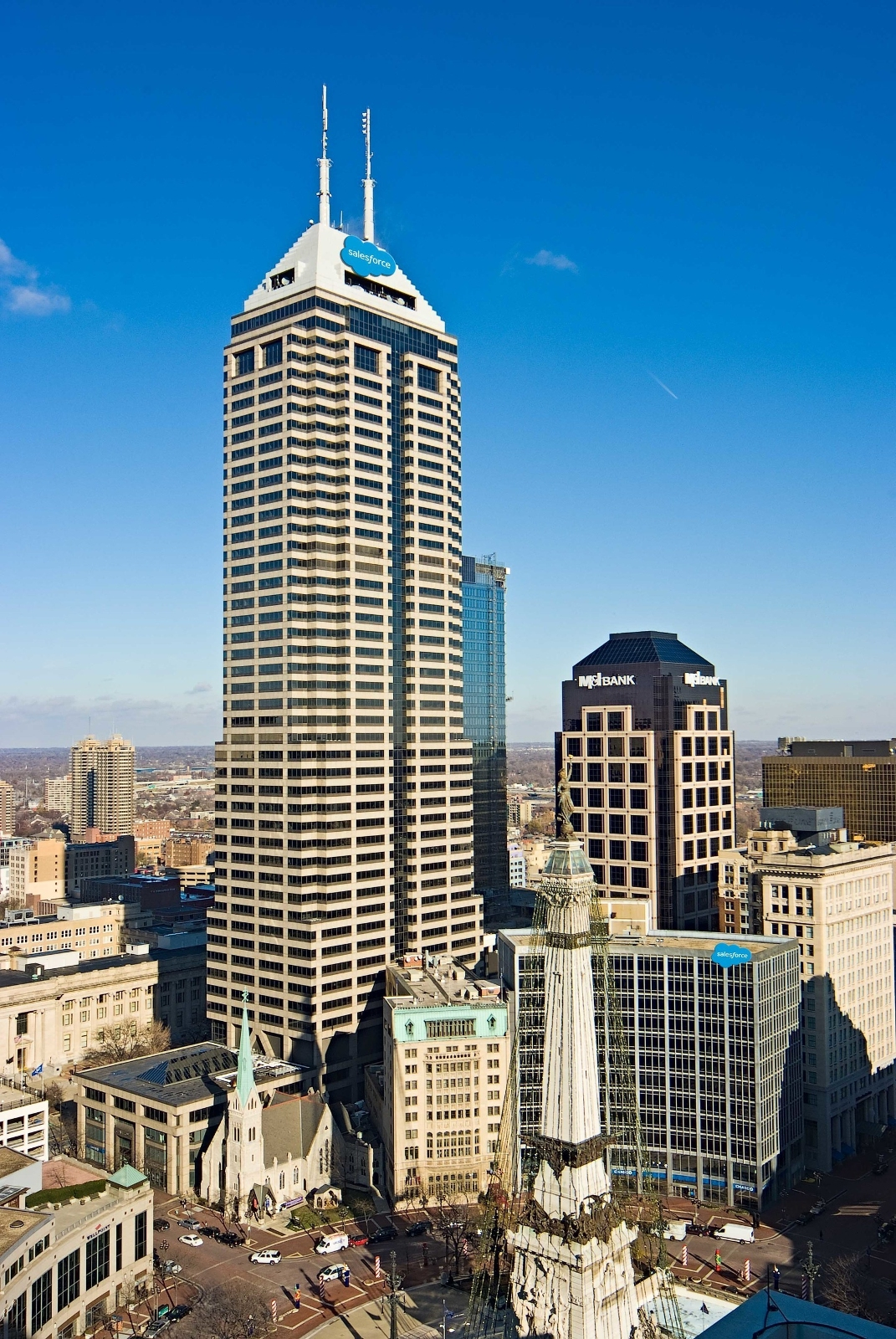 salesforce indianapolis tower