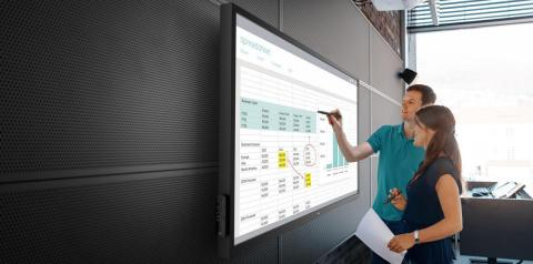 Dell 70-inch Interactive Conference Room Monitor