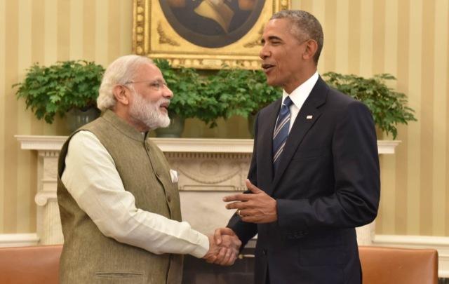 India Prime Minister Narendra Modi and US President Barack Obama