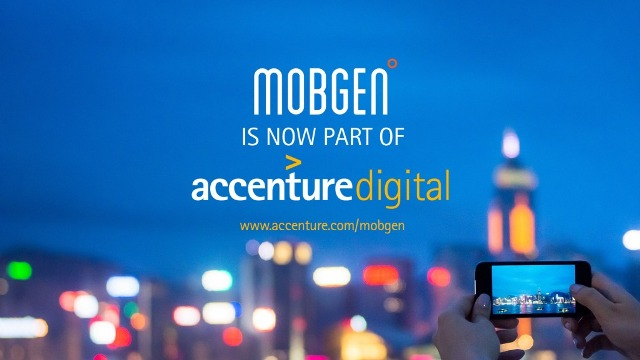 Accenture Acquires MOBGEN