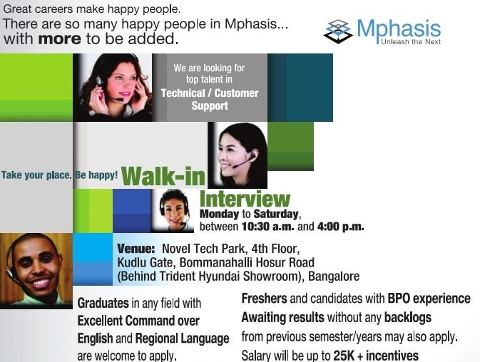 Mphasis Bangalore