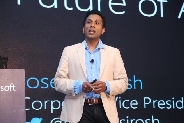 Joseph Sirosh Microsoft