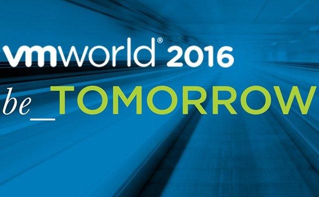 VMware vmworld 2016