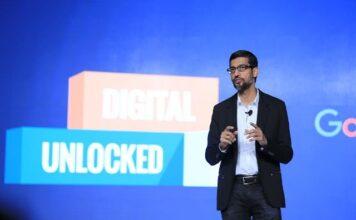 Google CEO Sundar Pichai at SMB event