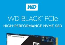 Western Digital WD Black PCle SSD