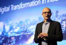 Microsoft CEO Satya Nadella in India