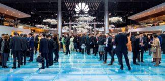 Huawei server at MWC 2017