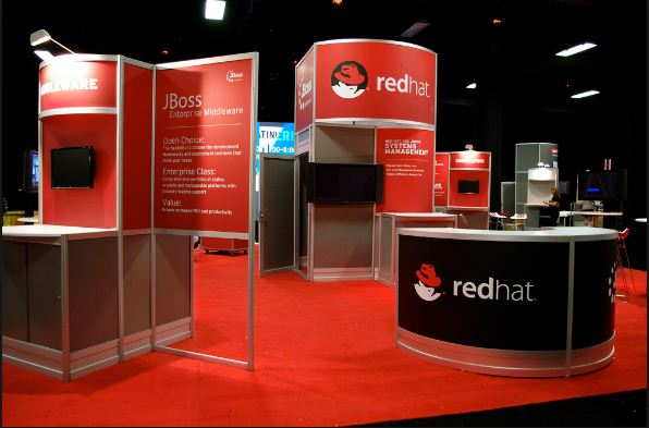 Red Hat Booth 1