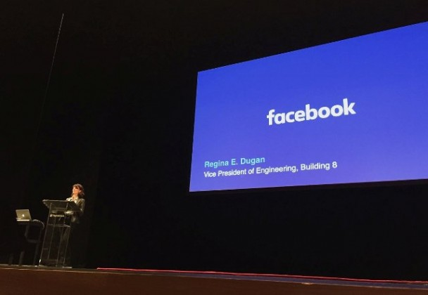 Regina Dugan, Vice President of Engineering at Facebook