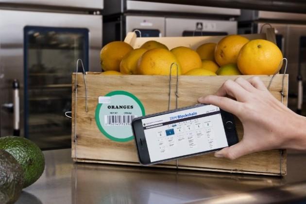 IBM blockchain for food chain
