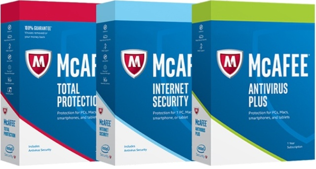 McAfee antivirus for PCs