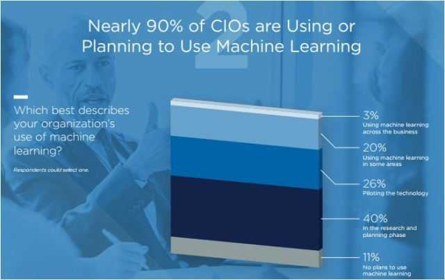 CIO survey on machine learning