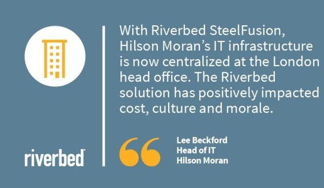 Riverbed and Hilson Moran