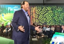 Salesforce CEO Marc Benioff at Dreamforce 2017