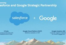 Salesforce and Google deal