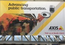 Axis Communications at a trade event