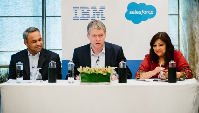 IBM and Salesforce India