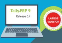 Tally.ERP9 release 6.4