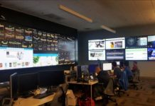 Walmart network operations center in California