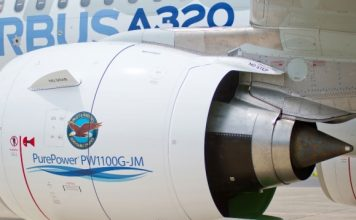 PW1100 engine