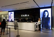ZARA for AR display