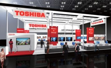 Toshiba at electronica China 2015