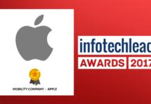 InfotechLead Award 2017 Mobility Company – Apple