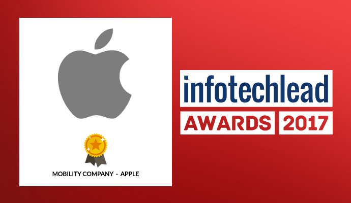 InfotechLead Award 2017 Mobility Company – Apple