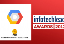 InfotechLead Award 2017 Marketing Campaign- Google Cloud