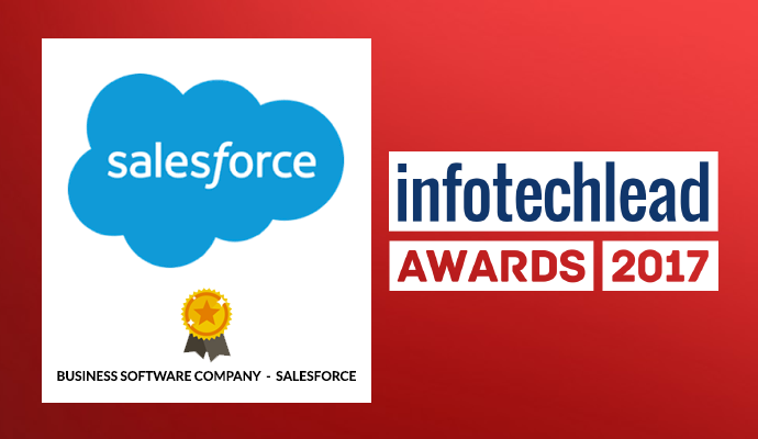 InfotechLead Award 2017 Business Software Company-Salesforce