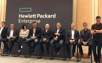 HPE channel meet Las Vegas