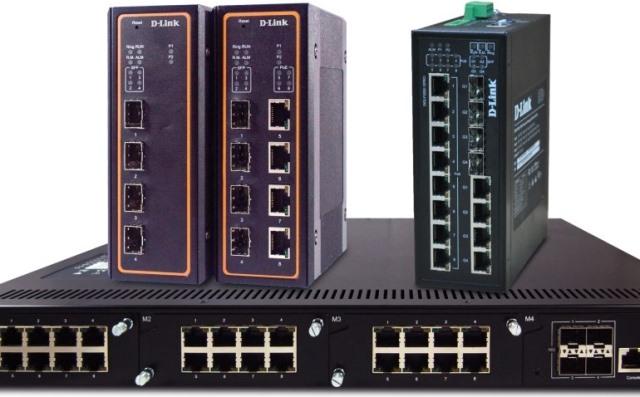 D-Link switches for enterprises