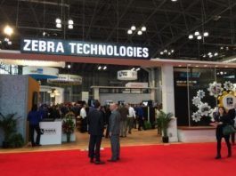 Zebra Technologies at an IT event