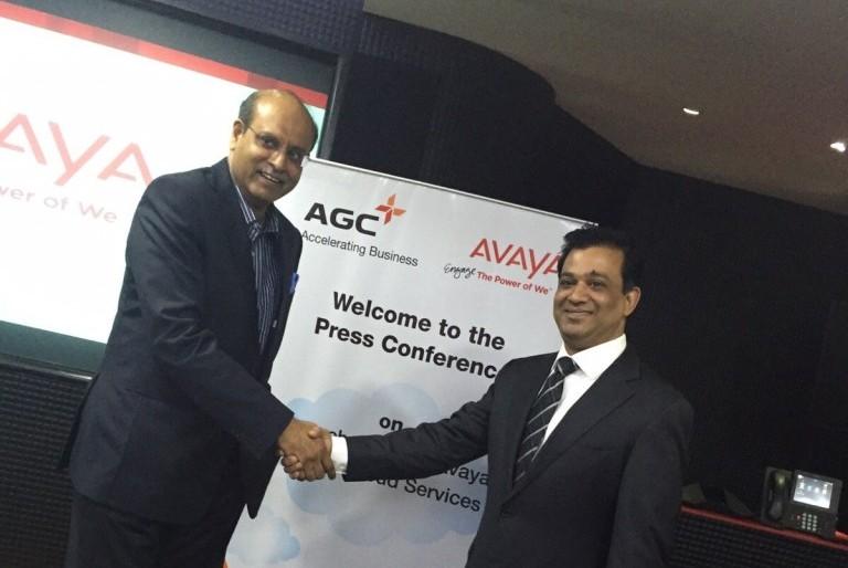 Anil Nair, Managing Director and CEO, AGC Networks and Priyadarshi Mohapatra, Managing Director, India and SAARC, Avaya