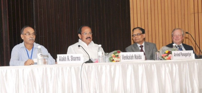 M Venkaiah Naidu at the International Conference on Sustainable and Inclusive Urban Development in India