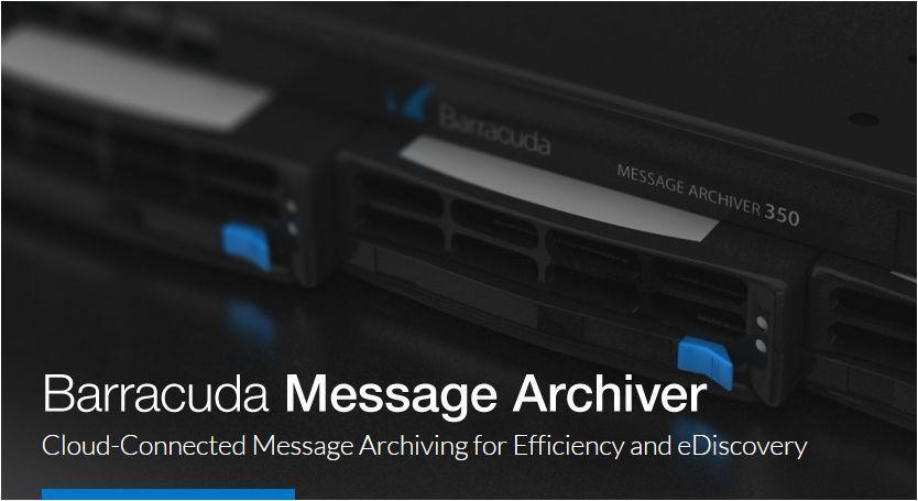 Barracuda Message Archiver