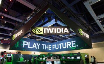 Nvidia Booth